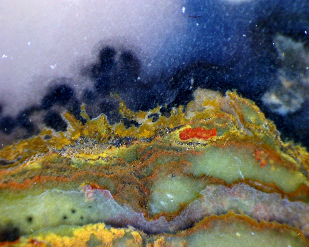 Spring Mountain By Moonlight by Stephanie Bateman-Graham