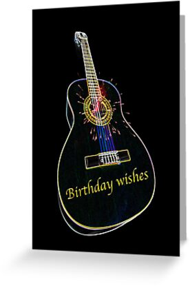 """""""Musical Happy Birthday"""" Greeting Cards by CardZone By Ian ..."""