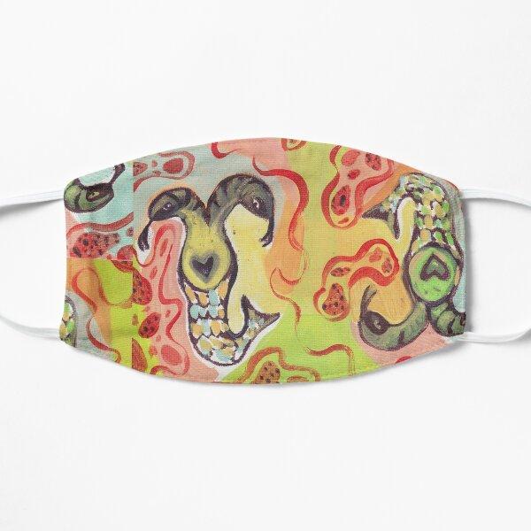 Siamese Twin Snake Mermaids Mask