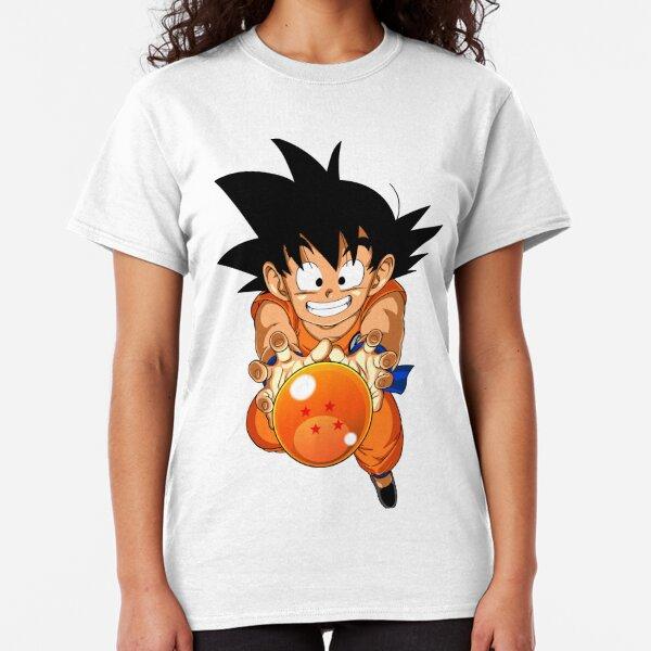 Kid Goku with 4 Star Dragon Ball  Classic T-Shirt