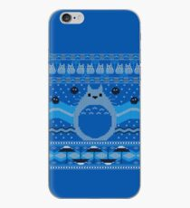 Totoro Knitted Neighbor iPhone Case