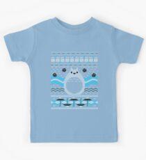 Totoro Knitted Neighbor Kids Tee