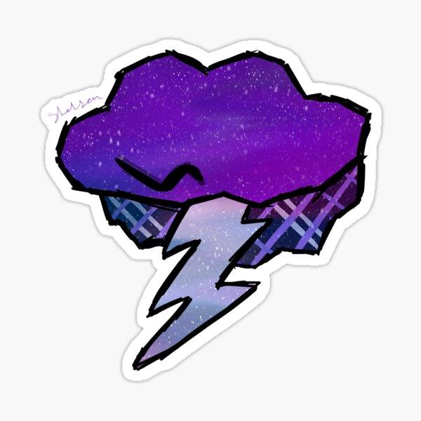 Galaxy Virgil Sanders Logo Sticker