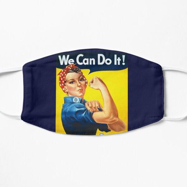 Nous pouvons le faire Rosie the Riveter Original Vintage Print Masque sans plis