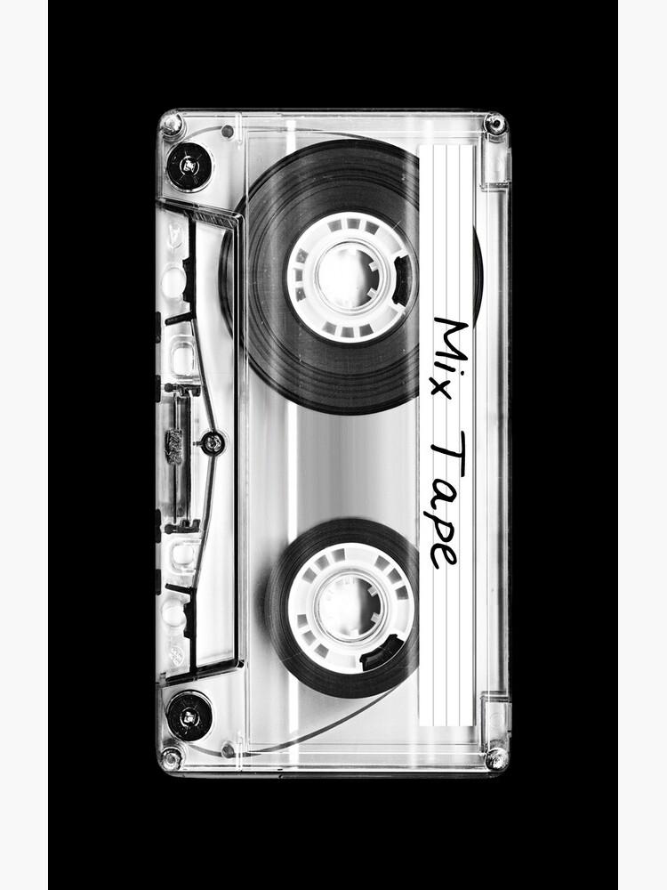 Audio Cassette / Mix Tape iPhone Case by Krydel