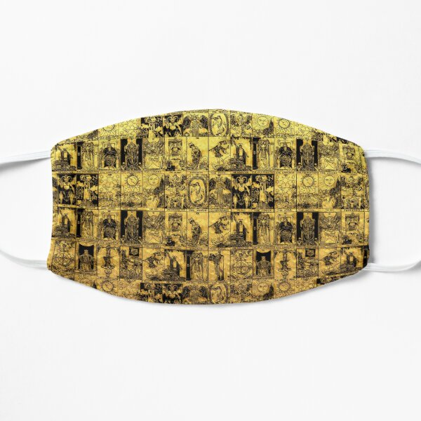 Gold and Black Tarot - A Major Arcana Print Mask
