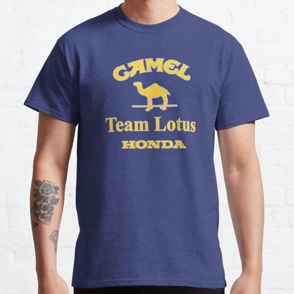 Camel Lotus Logo Shirt, sudadera con capucha, pegatina, máscara Camiseta clásica