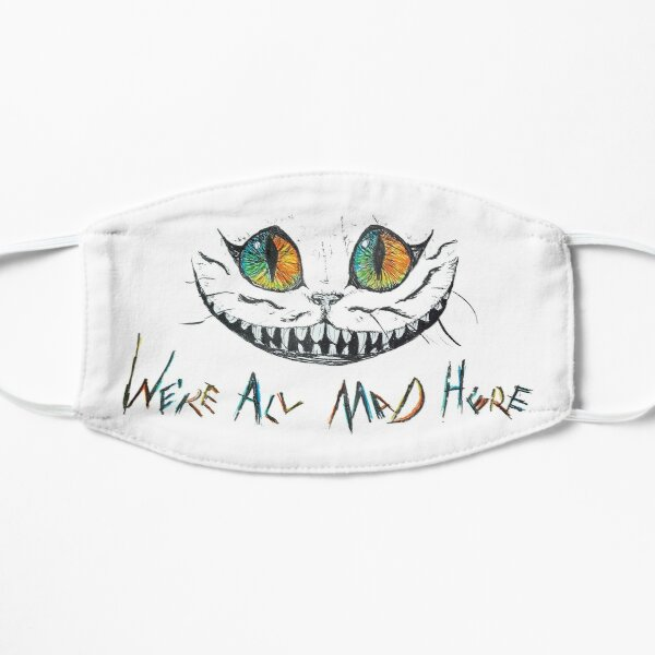 We're All Mad Here Cheshire Cat Mask