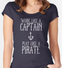 Play Like A Pirate Women's Fitted Scoop T-Shirt