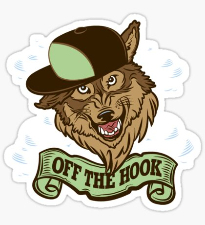 Off The Hook Sticker