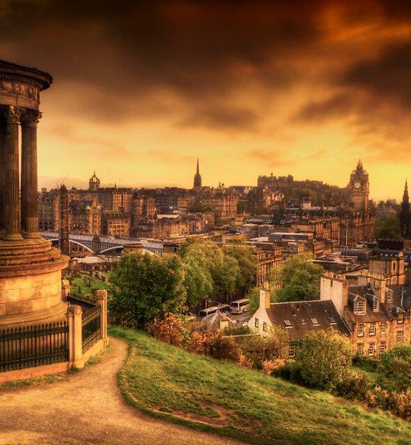 Edinburgh (Please View Larger) by Don Alexander Lumsden (Echo7)