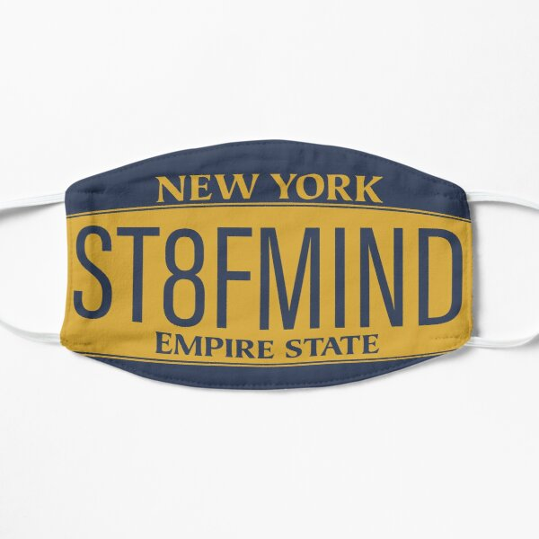 New York State of Mind Flat Mask