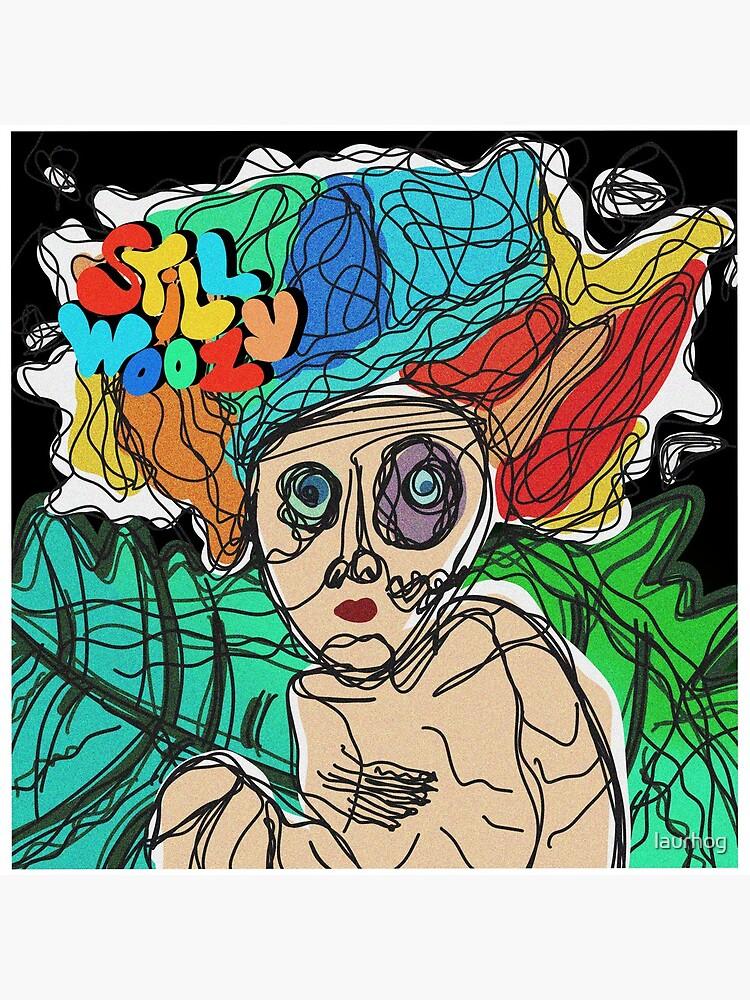 Still Woozy album cover doodle by laurhog