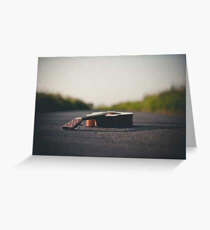 The road we travel Greeting Card