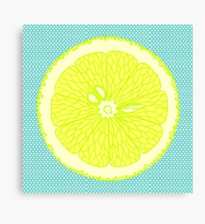 If life gives you lemons Canvas Print