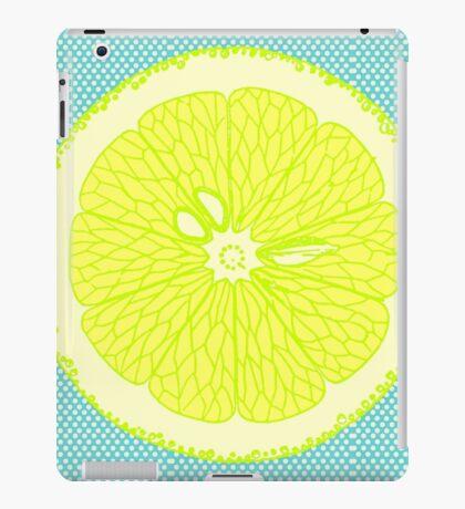 If life gives you lemons iPad Case/Skin