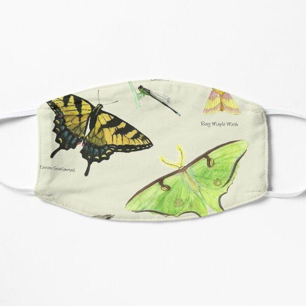 Butterflies and Dragonflies Flat Mask