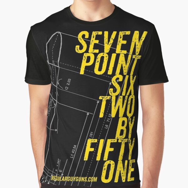 Seven Point Six Two By Fifty One Graphic T-Shirt