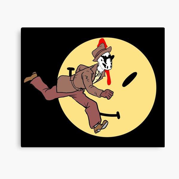 Watchmen X Tintin Impression sur toile