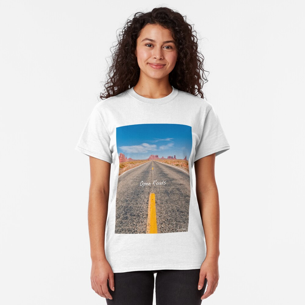 Where we're going, We don't need roads! Classic T-Shirt