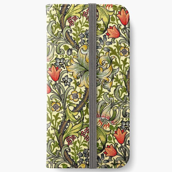 William Morris Golden Lily iPhone Wallet