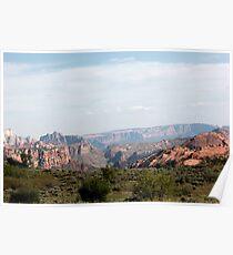 Kolob Canyon, UT Poster