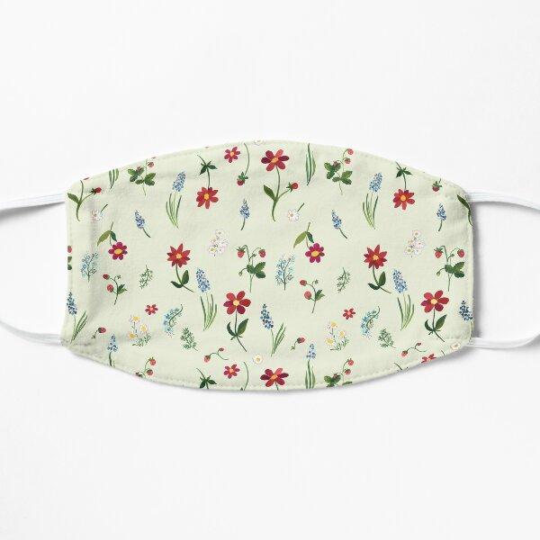 August Garden Floral Pattern Mask