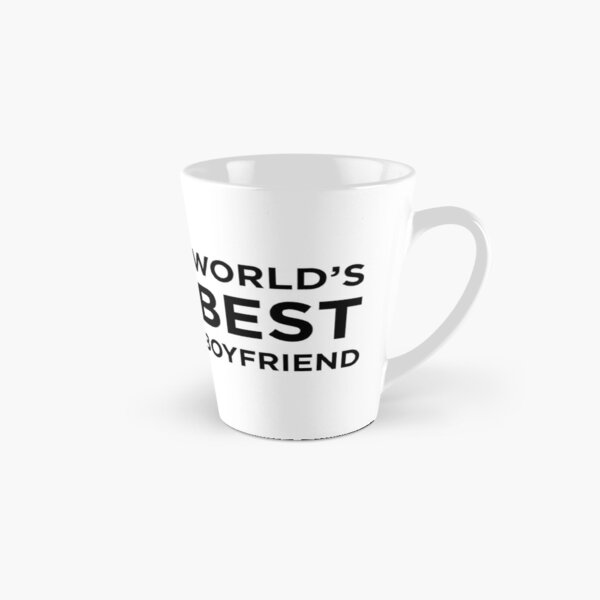 World's Best Boyfriend Tall Mug