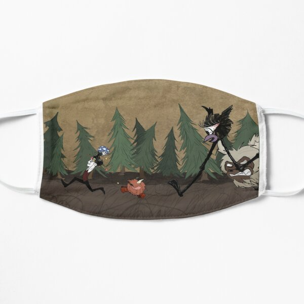 Don't Starve and Don't Die Mask