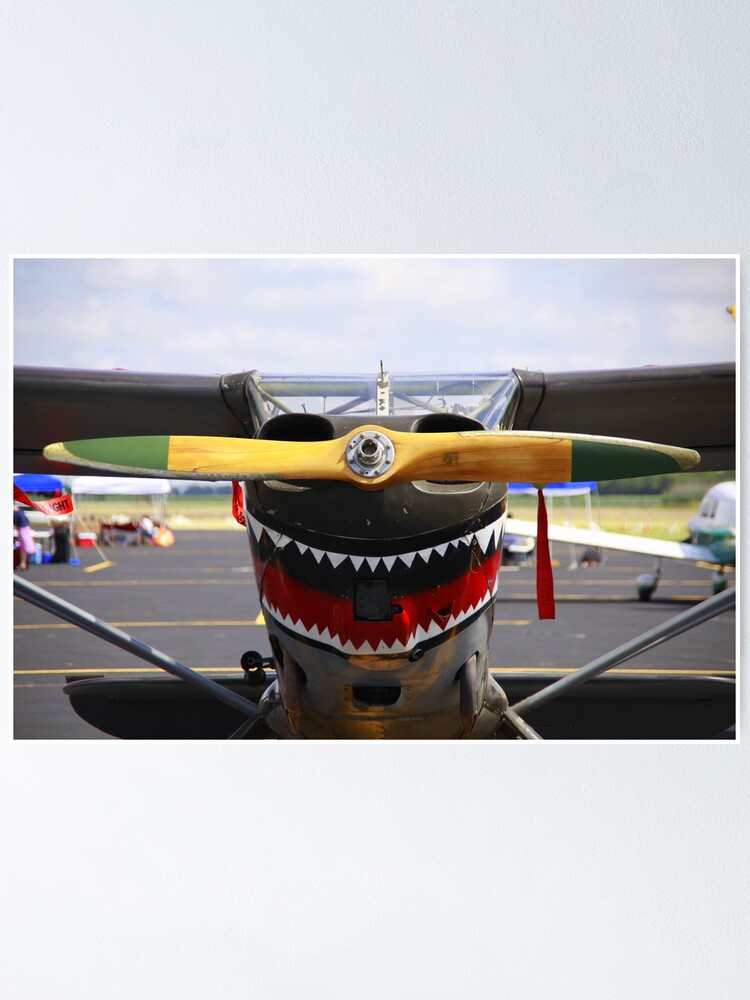 Vintage Nose Art WWII Airplane (L5 SENTINEL)   Poster