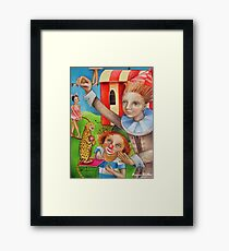 Circus Trainer Framed Print