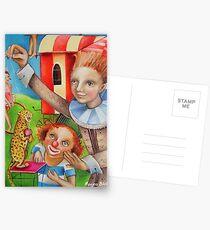 Circus Trainer Postcards