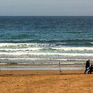 Beachcasting by Tom Gomez