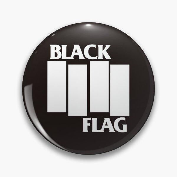 Black flag Pin