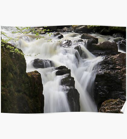 Silky Falls Poster