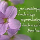 Grateful Blossom by Robin Clifton