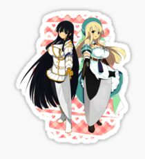 Ikaruga and Yomi Sticker