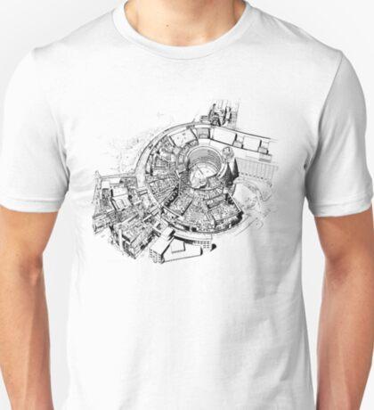 BBC Television Centre floorplan T-Shirt