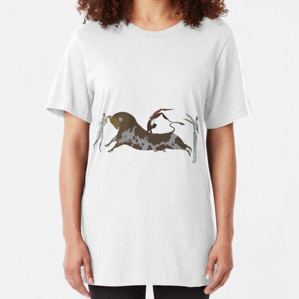 Bull Leaping Slim Fit T-Shirt