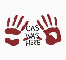 Castiel was here (handsy)