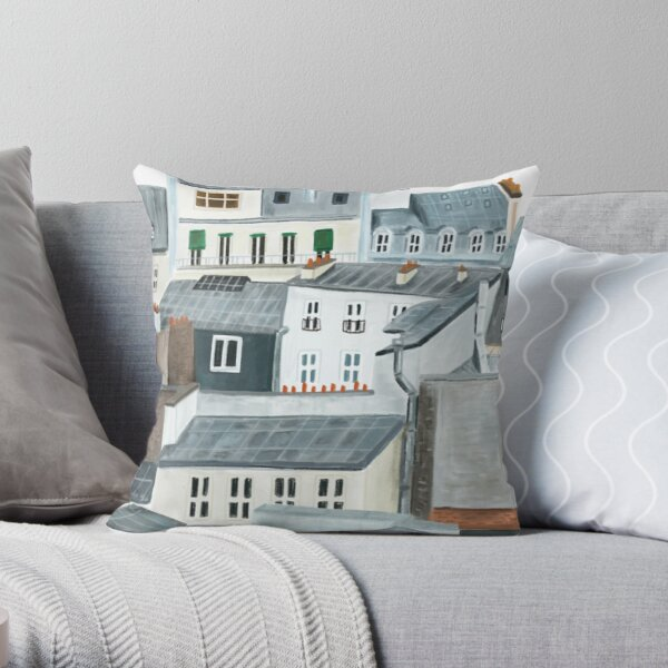 We Will Always Have Paris Throw Pillow