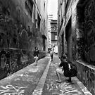 Making memories - Melbourne Lane ways by Norman Repacholi