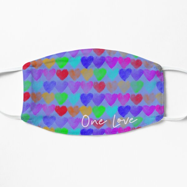 One Love - Inspired by Britain's Children During Covid19 Pandemic Mask