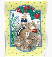 CHIPMUNK AND HAMSTER Poster