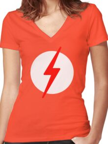 Kid Flash Women's Fitted V-Neck T-Shirt