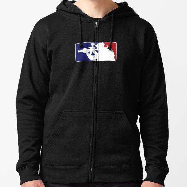 Major League fill in the blank... Zipped Hoodie
