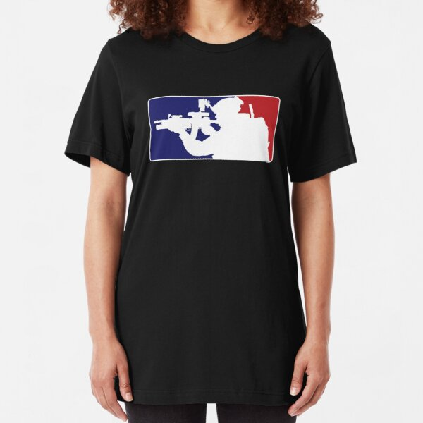 Major League fill in the blank... Slim Fit T-Shirt