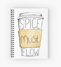 Spice Must Flow Spiral Notebook