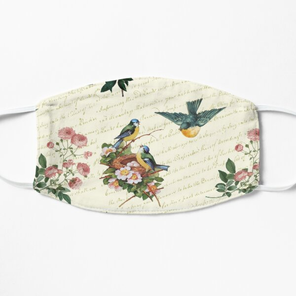 Birds and Flowers Mask