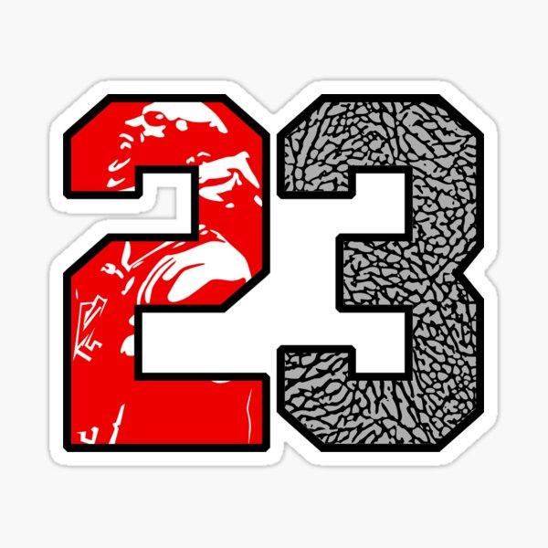 23 Cement Sticker